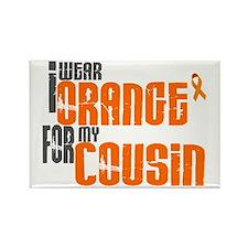I Wear Orange For My Cousin 6 Rectangle Magnet