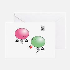 TING AND TANG Greeting Card