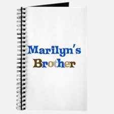 Marilyn's Brother Journal
