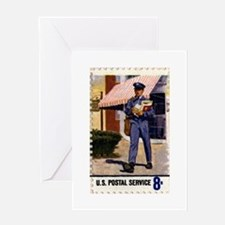 mailman_10x10 Greeting Cards