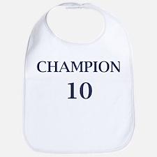 Eli Manning Champion (#10) Bib