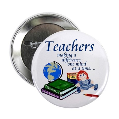 """Teachers Making a Difference 2.25"""" Button (100 pac"""