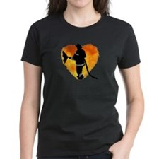 Firefighter and Flames Tee