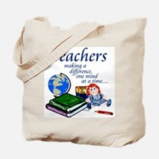 Teachers Making a Difference Tote Bag