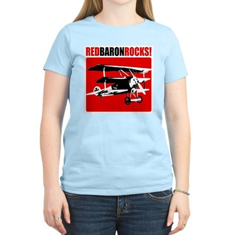 Red Baron Rocks! Women's Light T-Shirt
