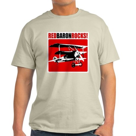 Red Baron Rocks! Light T-Shirt