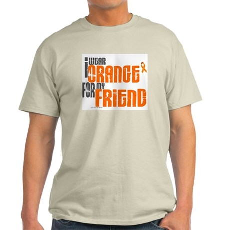 I Wear Orange For My Friend 6 Light T-Shirt