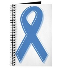 Lt Blue Awareness Ribbon Journal