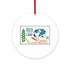 Cute Legal Ornament (Round)
