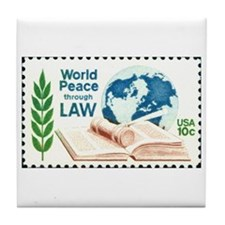 Unique Law Tile Coaster
