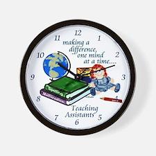 Teaching Assistants Wall Clock