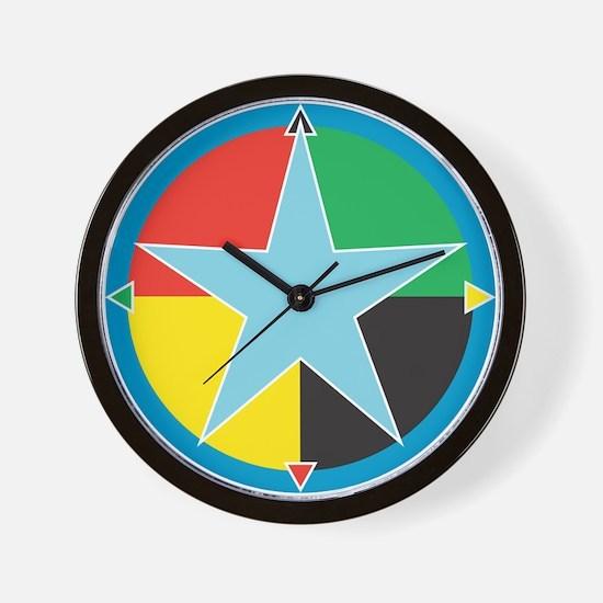 "Sean Bowen's ""Star Medicine"" Wall Clock"