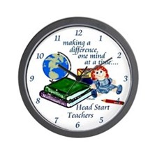 Head Start Wall Clock