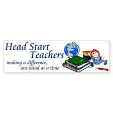 Head Start Bumper Bumper Sticker