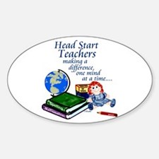 Head Start Oval Decal