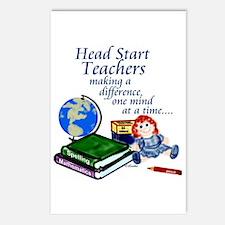 Head Start Postcards (Pkg 8)