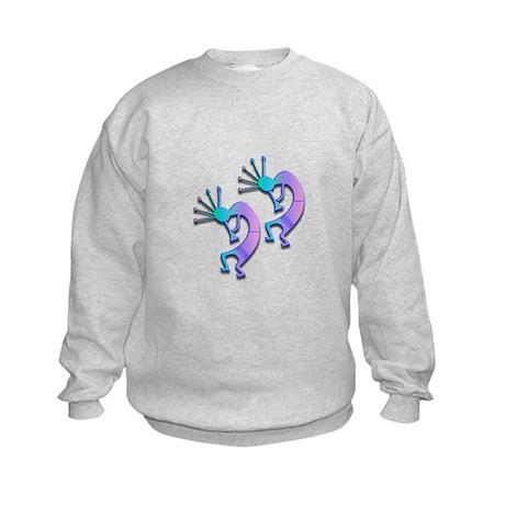 Two Kokopelli #91 Kids Sweatshirt