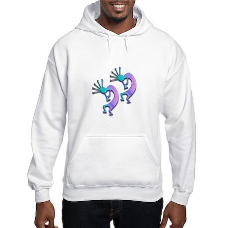 Two Kokopelli #91 Hooded Sweatshirt