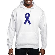 Purple Awareness Ribbon Hoodie