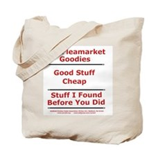 Cool Flea Tote Bag