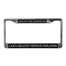 8TH DAY Newfoundlands License Plate Frame