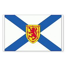 Nova Scotia Rectangle Decal