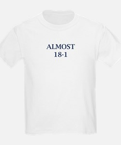Giants Super Bowl (Almost 18-1) T-Shirt