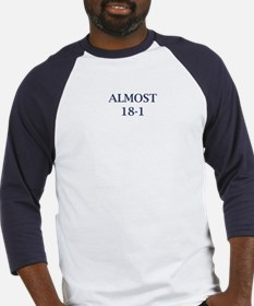 Giants Super Bowl (Almost 18-1) Baseball Jersey