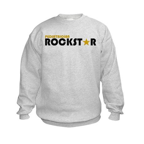Pediatrician Rockstar 2 Kids Sweatshirt