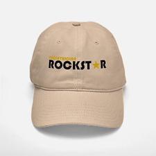 Pediatrician Rockstar 2 Baseball Baseball Cap
