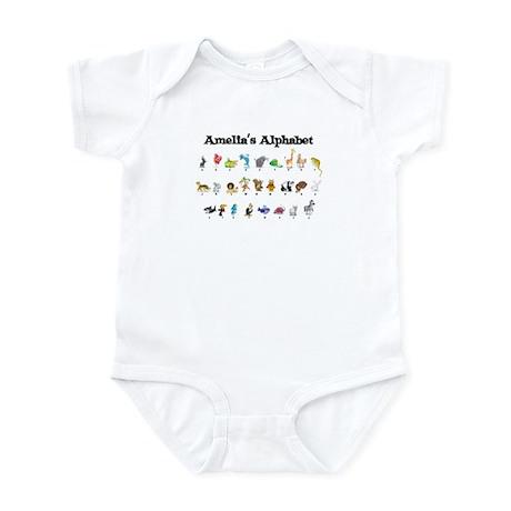 Amelia's Animal Alphabet Infant Bodysuit