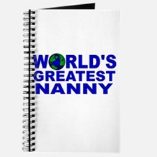 World's Greatest Nanny Journal