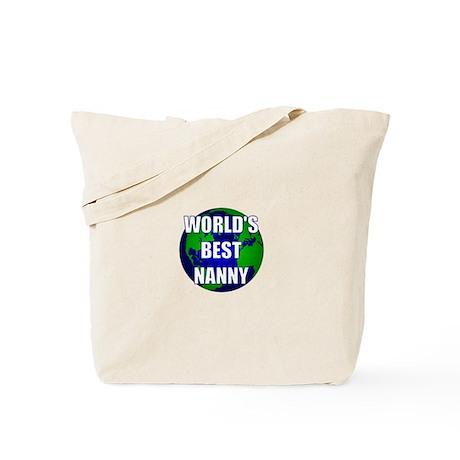 World's Best Nanny Tote Bag