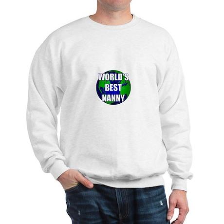 World's Best Nanny Sweatshirt