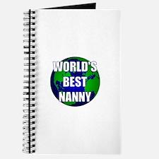 World's Best Nanny Journal