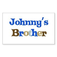 Johnny's Brother Rectangle Decal