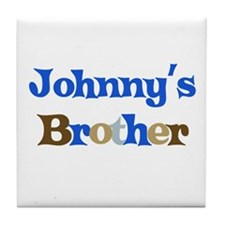 Johnny's Brother Tile Coaster