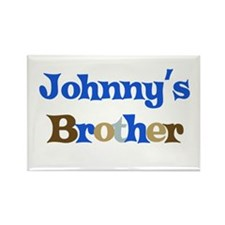 Johnny's Brother Rectangle Magnet