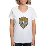 USS BAUER Women's V-Neck T-Shirt