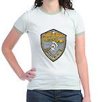 USS BAUER Jr. Ringer T-Shirt