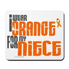 I Wear Orange For My Niece 6 Mousepad