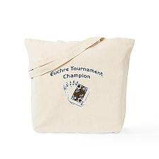 Euchre Tournament Tote Bag