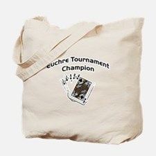 Euchre Tournament Tote Bag