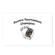 Euchre Tournament Postcards (Package of 8)