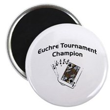 Euchre Tournament Magnet