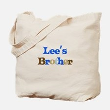 Lee's Brother Tote Bag