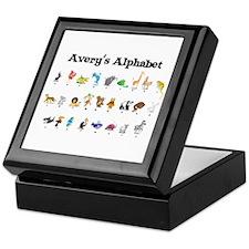 Avery's Animal Alphabet Keepsake Box
