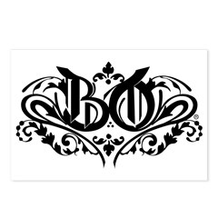 MARKA BO Postcards (Package of 8)