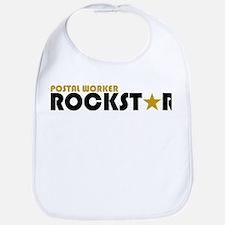Postal Worker Rockstar 2 Bib