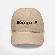 Postal Worker Rockstar 2 Baseball Baseball Cap